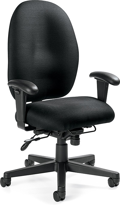 Global Stamina+ High Back Heavy Duty Posture Tilter Chair 2440(TD)