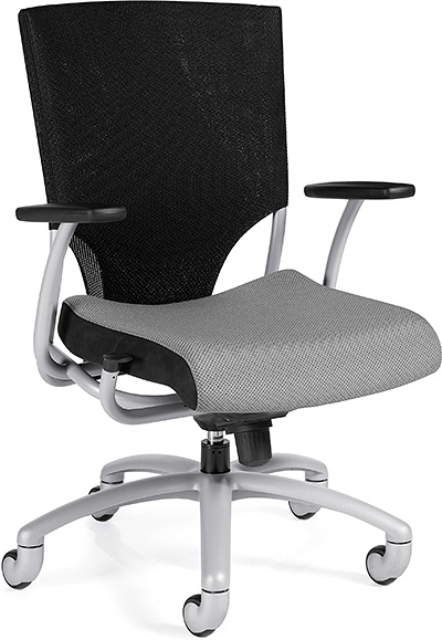 Global Ride High Back Synchro Knee Tilter Chair 2607-1