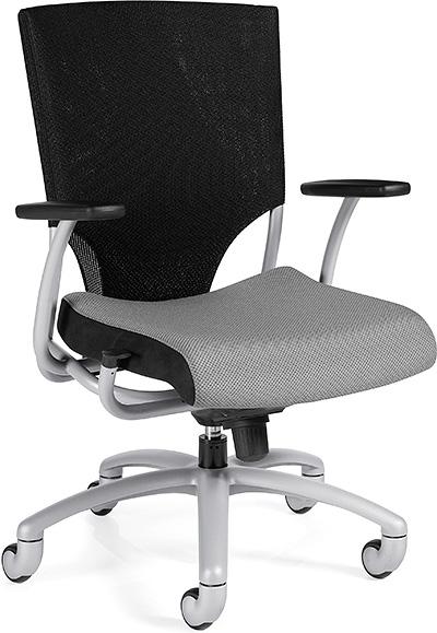 Global Ride High Back Synchro Knee Tilter Chair 2607-1