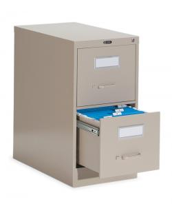 Global 2600 Series Vertical File Cabinet 26-200 2-Drawers