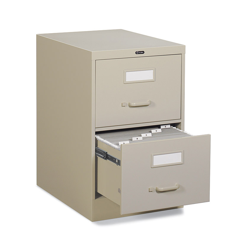 Global 2500 Series 25 Inches Deep Vertical File Cabinet Legal Size