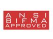 ANSI/BIFMA certified