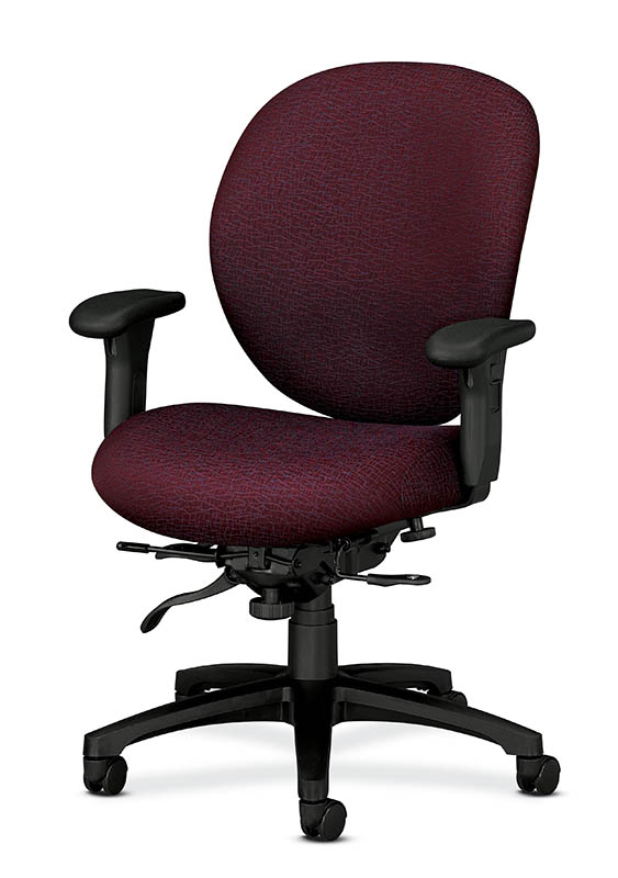 HON Mid Back High Performance Task Chair 7628