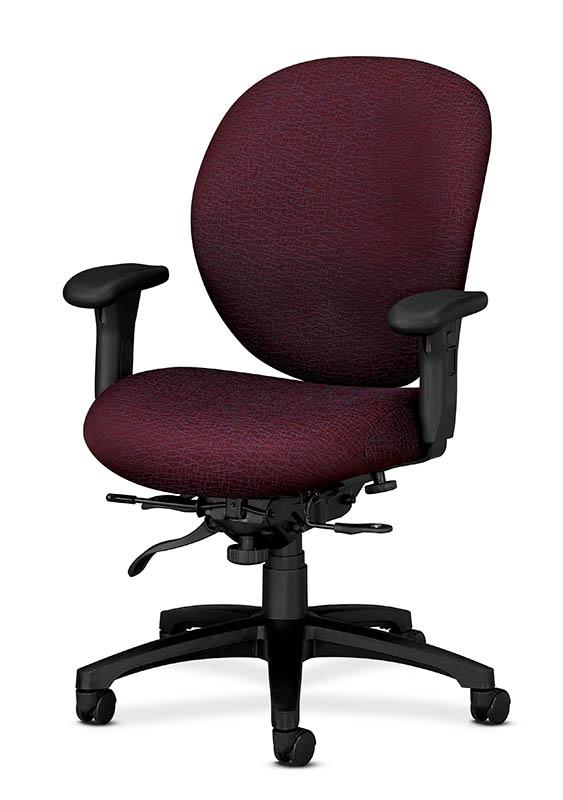 hon 7608 hon mid back high performance task chair