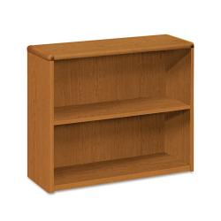 HON 10700 Series 2 shelf Laminate Small Bookcase 10752
