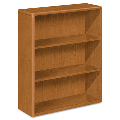 HON 10700 Series 3 shelf Laminate Small Bookcase 10753