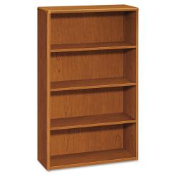 HON 10700 Series 4 Shelf Laminate Small Bookcase 10754