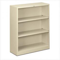 HON Small 3 Shelf Steel Bookcase S42ABC