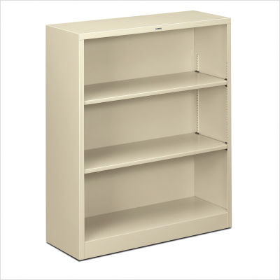 HON Small 3 Shelf Steel Bookcase S42ABC
