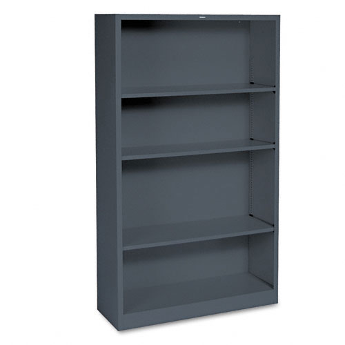 HON Small 4 Shelf Steel Bookcase S60ABC