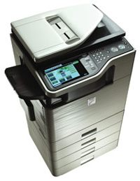 Sharp DX-C311 Black n White and Color Multifunctional Printer