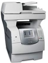 Lexmark X642e Multifunction Printer-Scanner-Copier-Fax