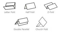Martin Yale 1611 AutoFolder Folding Machine Paper Folds