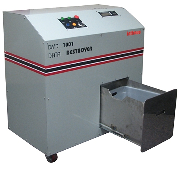 Martin Yale Intimus Terminator DMD1001 Hard Drive Data Destruction Shredder