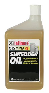 Martin Yale Shredder Oil