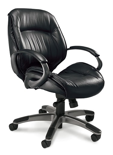 Mayline Ultimo 100 Premier Mid Back Task Chair ULMGRBLK