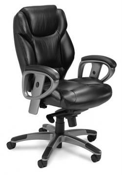 Mayline Ultimo 300 Mid-Back W/Synchro-Tilt Task Chair UL330M