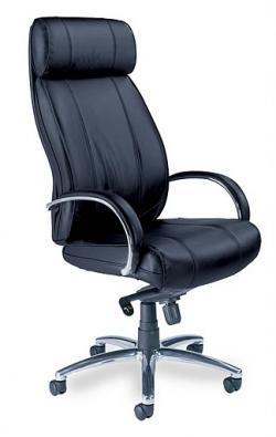 Mayline Mercado Leather Optima High Back Executive Chair OPH