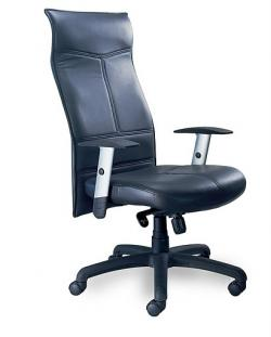 Mayline Mercado Leather Silhouette Executive Chair SS