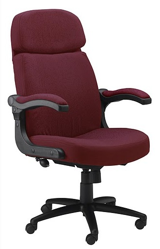 Mayline Comfort Big and Tall/24-hour Pivot Arm Heavy Duty Chair 6446AG