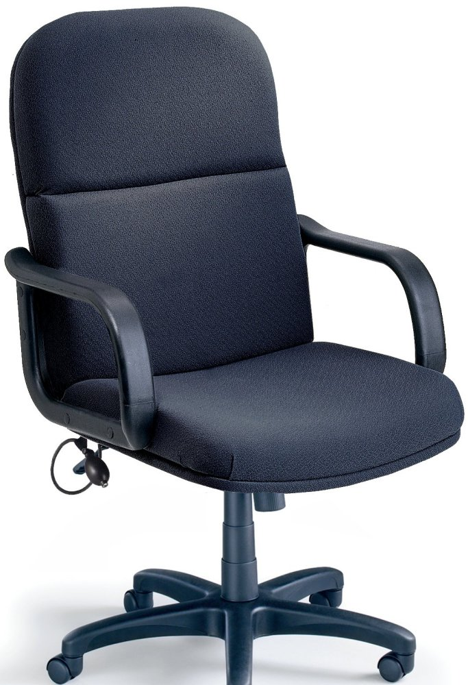 Mayline Comfort Big and Tall/24-hour Loop Arm Heavy Duty Chair 1801AG