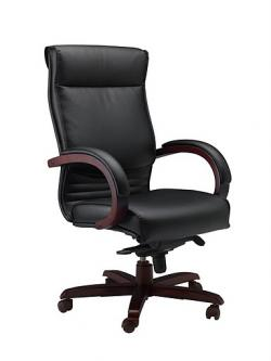 Mayline Mercado Wood Series Corsica Executive Chair CS