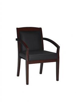 Mayline Mercado Wood Series Guest Chair VSCA