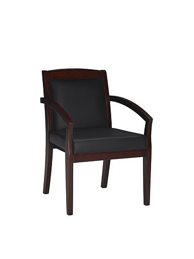 Mayline Mercado Wood Series Guest Chair VSCA