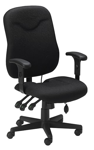 Mayline Comfort Executive Posture Chair 9414AG