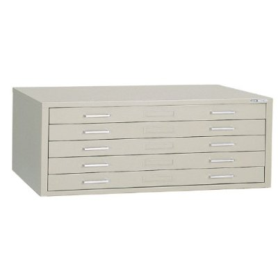 Mayline Self-Contained Filing Cabinet for 30 x 42 Sheets