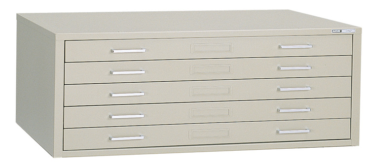 Mayline Self-Contained Filing Cabinet for 24 x 36 Sheets � 7867C