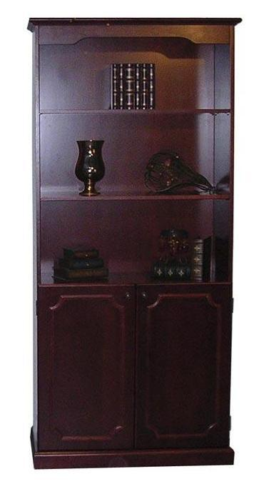 Mayline Toscana Bookcase with Lower Doors TBD