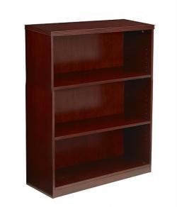 Mayline Luminary 42 inch Three Shelf Bookcase BC3642