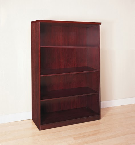 Mayline Luminary 68 inch Four Shelf Bookcase - BC3668