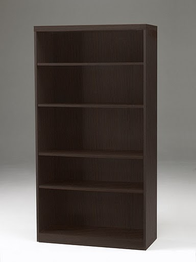 Mayline Aberdeen Five Shelf Bookcase AB5S36