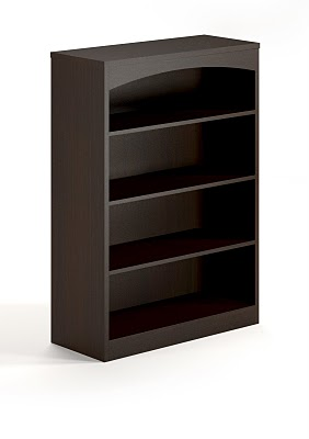 Mayline Brighton Four Shelf Bookcase BTB4S36