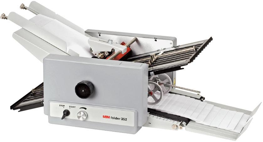 352F tabletop friction folder