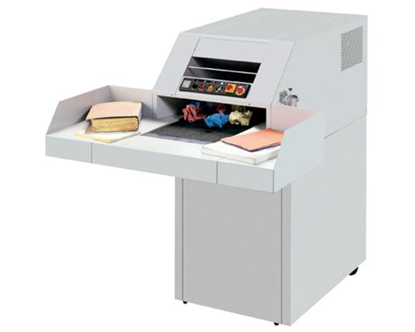MBM Destroyit 4107CC Industrial Cross Cut PaperShredder