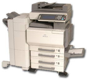 NEC IT35C1 MultiFunction Printer-Scanner-Fax-Copier
