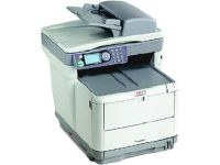 Oki C3530n MFP Multifunction Printer-Scanner-Fax-Copier
