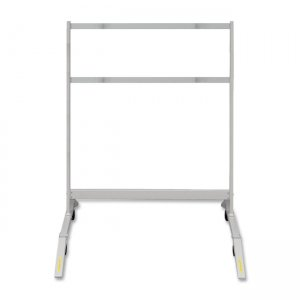 Mobile floor stand with locking casters