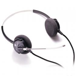 Plantronics H61Supra Binaural Voice Tube Headset