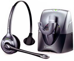 Plantronics SupraPlus CS351N-HL10 Monaural Noise-Cancelling DECT 6.0 Wireless Headset