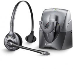 Plantronics SupraPlus Wireless Monaural Noise Canceling Headset, CS351N