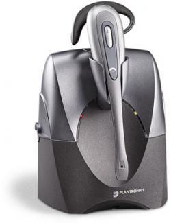 Plantronics 1.9 GHz Digital Wireless Office Headset System for Desk Telephones, CS55
