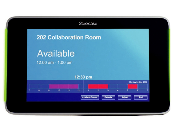 Steelcase PolyVision RW 20 Room Scheduling System