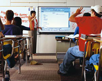 PolyVision TS 610 USB Touch Sensitive Interactive Whiteboard