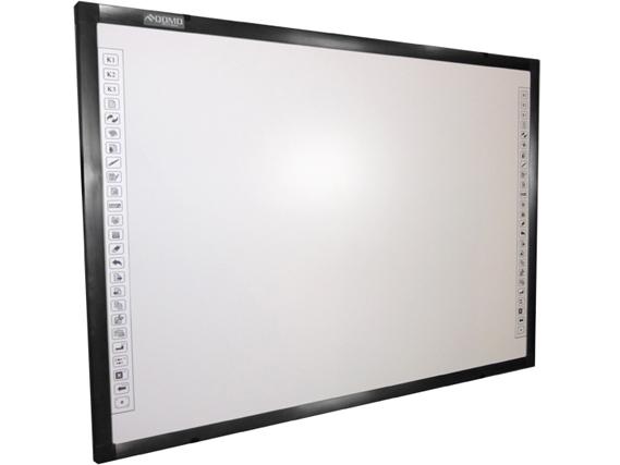 Qomo QWB70WSEM Electromagnetic Dual Pen Whiteboard