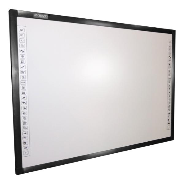 Qomo QWB100WSEM Electromagnetic Dual Pen Whiteboard
