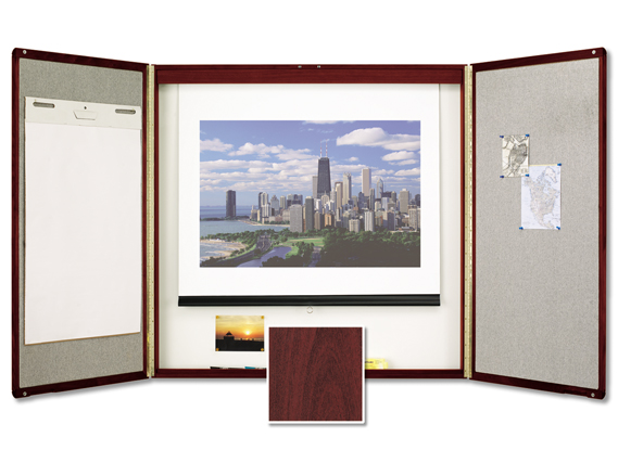 Delightful Quartet IdeaShare Whiteboard Cabinet Q851
